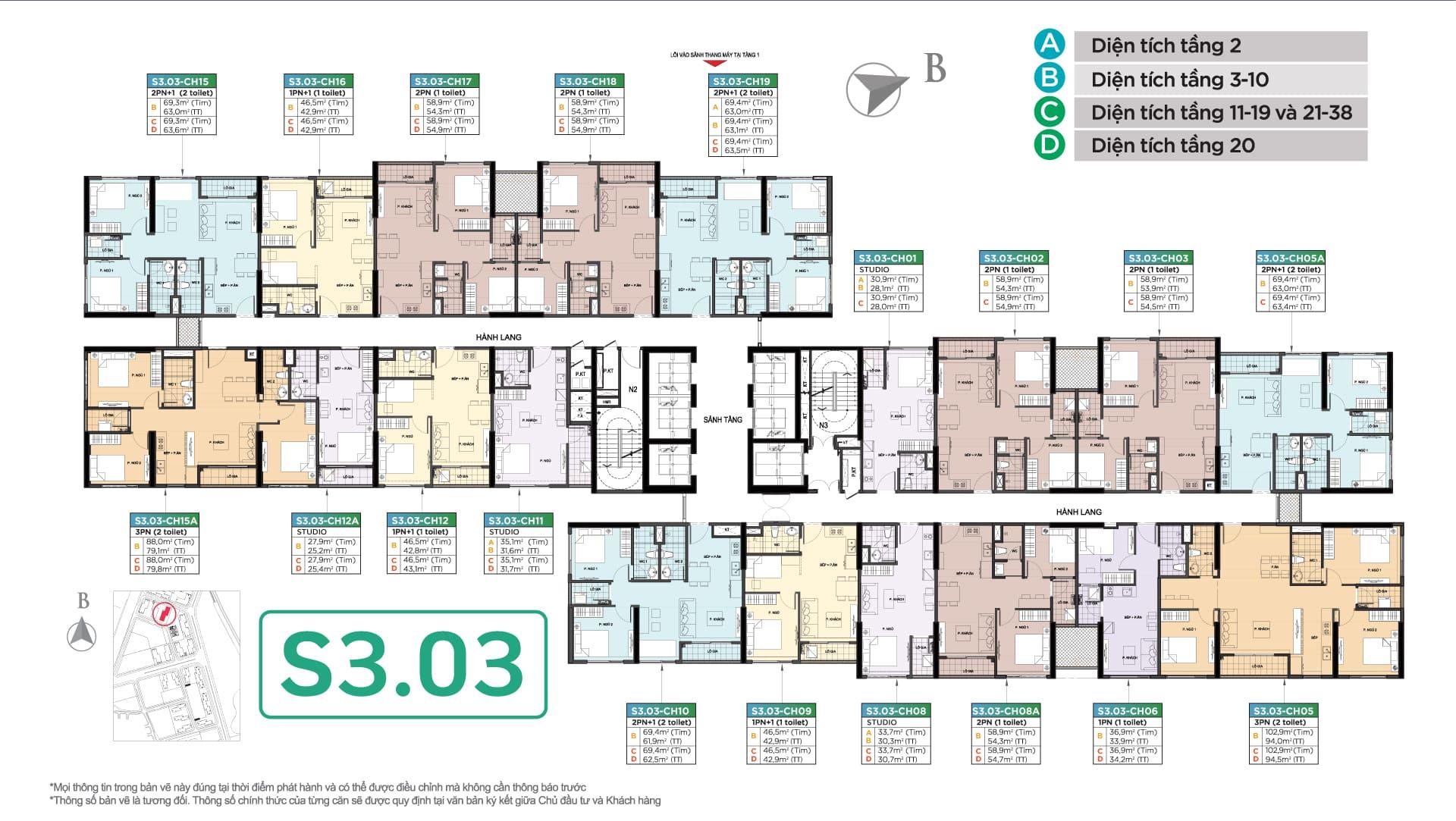 tòa s3.03 vinhomes smart city tây mỗ đại mỗ