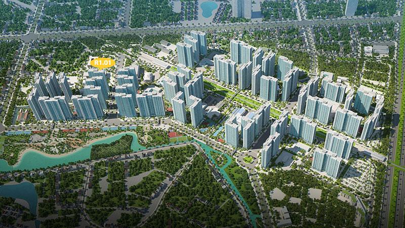 tòa R1.01 Vinhomes smart city tây mỗ