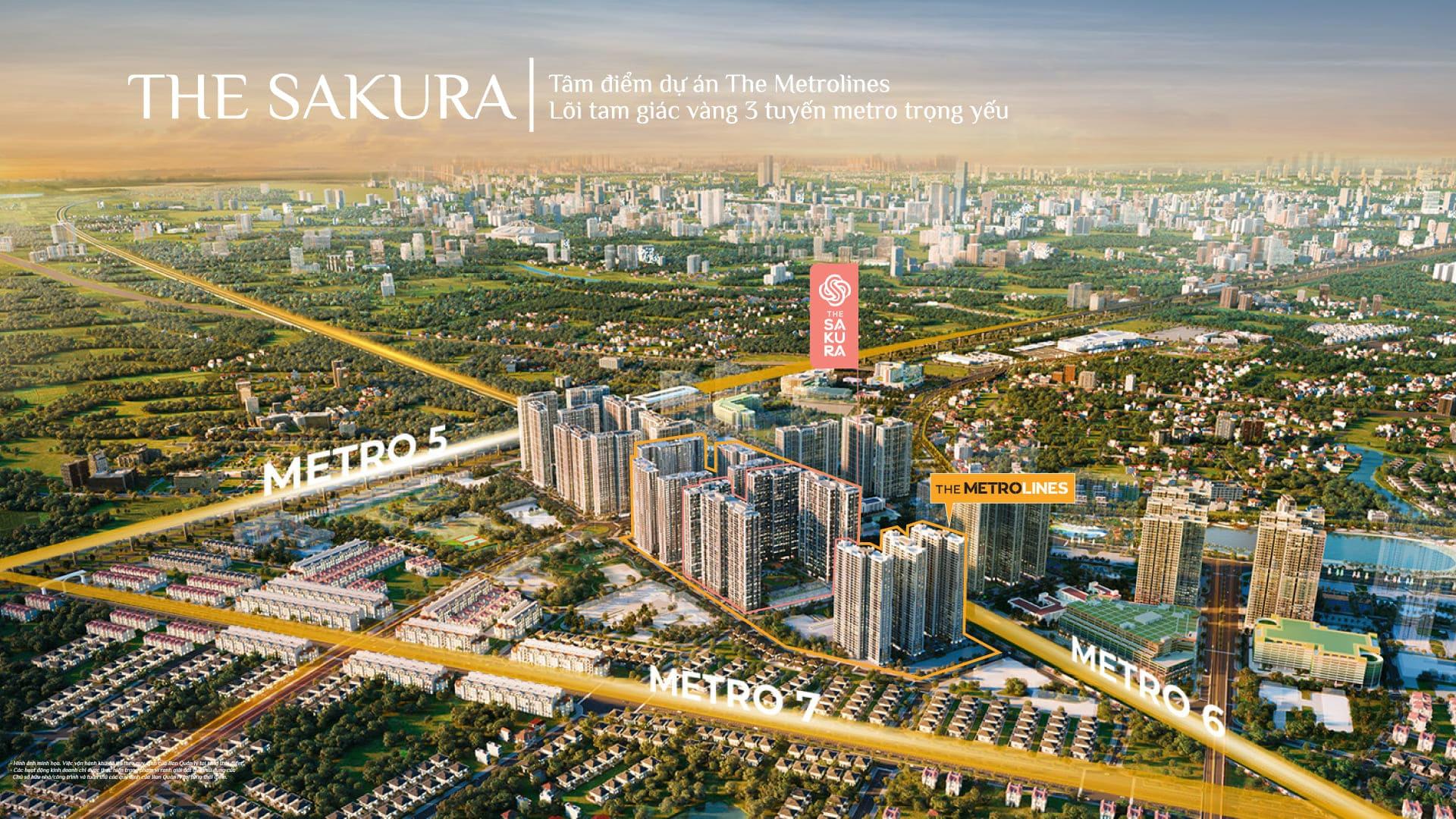 the sakura vinhomes smart city